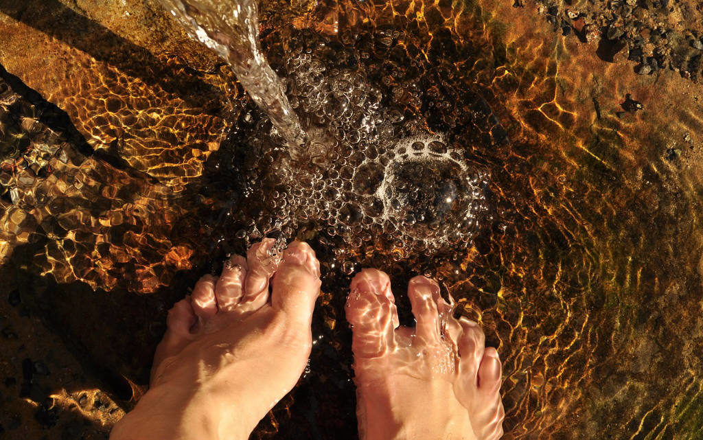 Foot Bath for Holistic Living