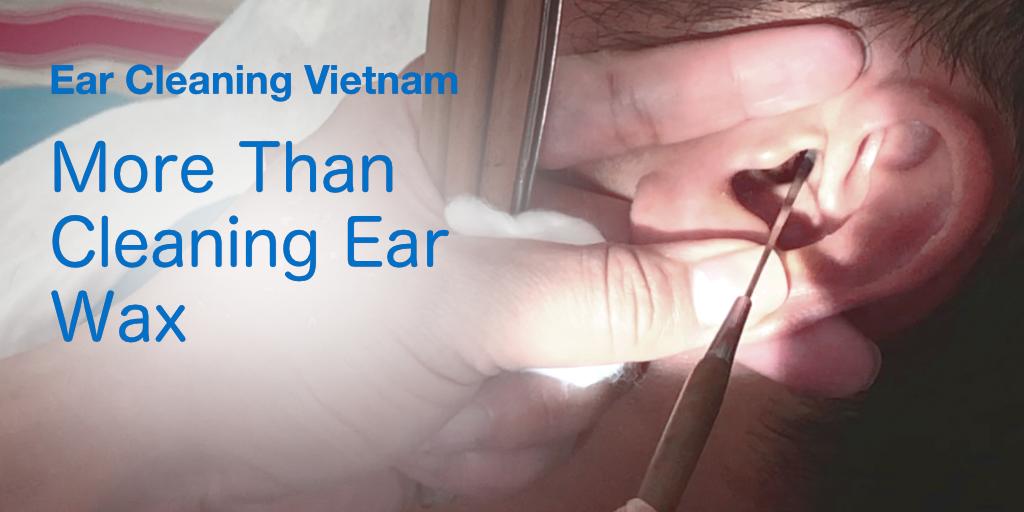 Ear cleaning in Vietnam
